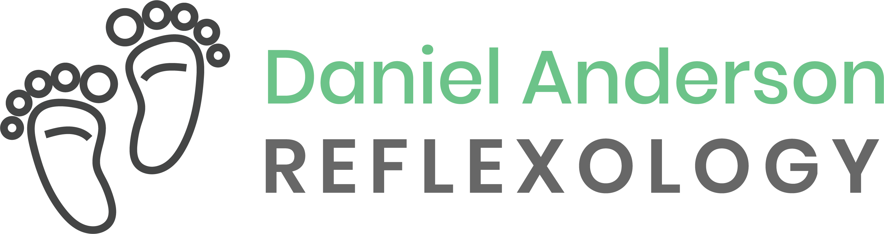 The Daniel Anderson Reflexology Logo